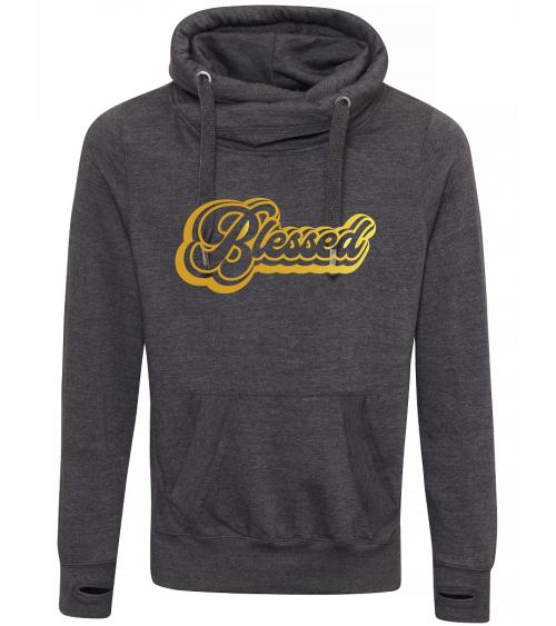 Heren hoodie Blessed €44,95 Home