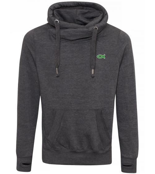 Heren Ichthus hoodie