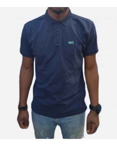 Heren Ichthus Poloshirt | Fair wear €37,95 Home