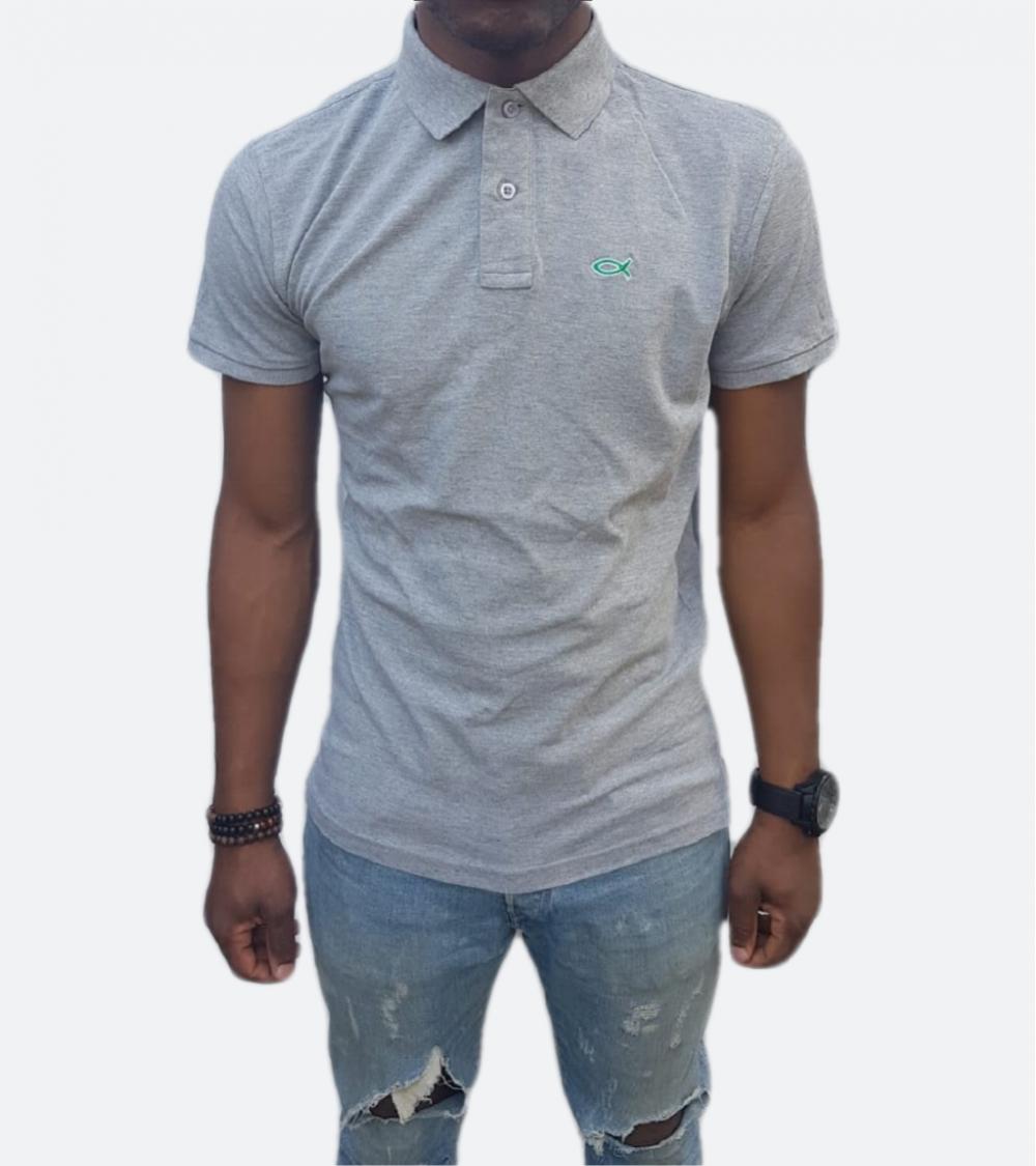 Heren Poloshirt Ichthus | Fair wear €37,95 Home