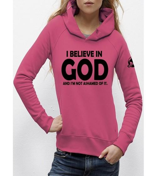 Hoodie I believe in God | Fair wear