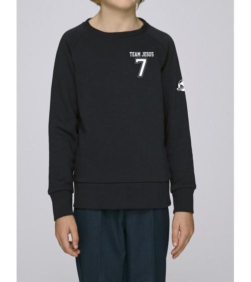 Kids unisex sweater Team Jesus | Fair wear €28,95 -30% Home