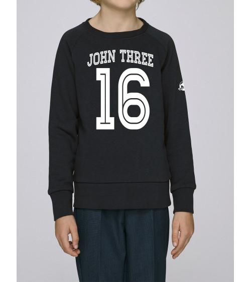 Unisex Kids sweater John Three 16 | Fair wear €25,95 -30% Home