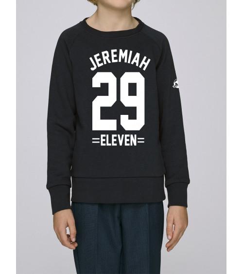 Kids unisex Zwarte sweater Jeremiah 29 | Fair wear €25,95 -30% Home