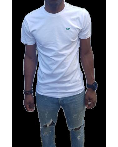 Heren Ichthus T-shirt Wit   Fair wear €28,95 Home