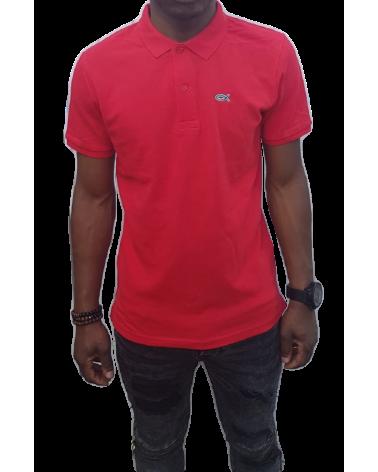 Heren Ichthus Poloshirt Rood   Fair wear €37,95 Home