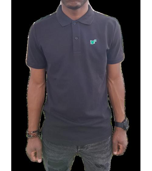 Heren Duif Poloshirt Zwart | Fair wear €37,95 Home