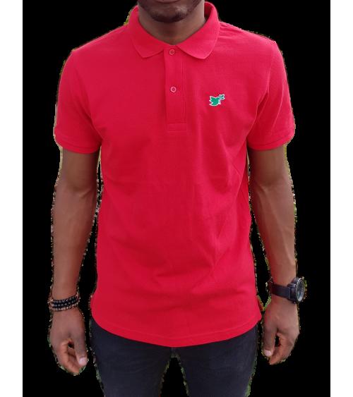 Heren Duif Poloshirt Rood | Fair wear €37,95 Home