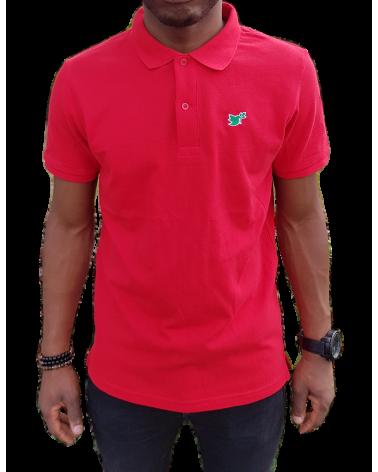 Heren Duif Poloshirt Rood   Fair wear €37,95 Home
