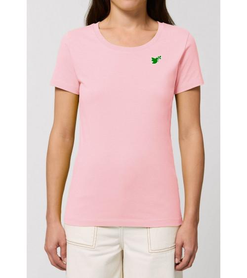 Dames Duif logo T-shirt | Fair wear €32,95 Home