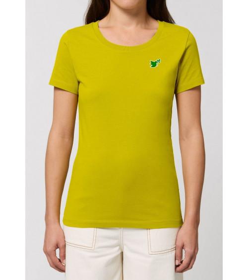 Dames Duif T-shirt Geel | Fair wear €32,95 Home