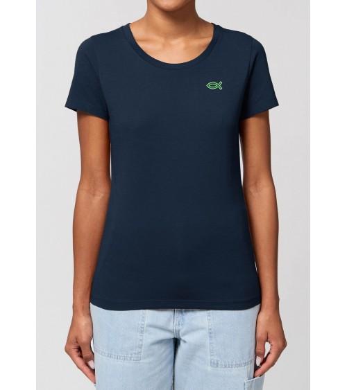 Dames Ichthus T-shirt | Fair wear €32,95 Home