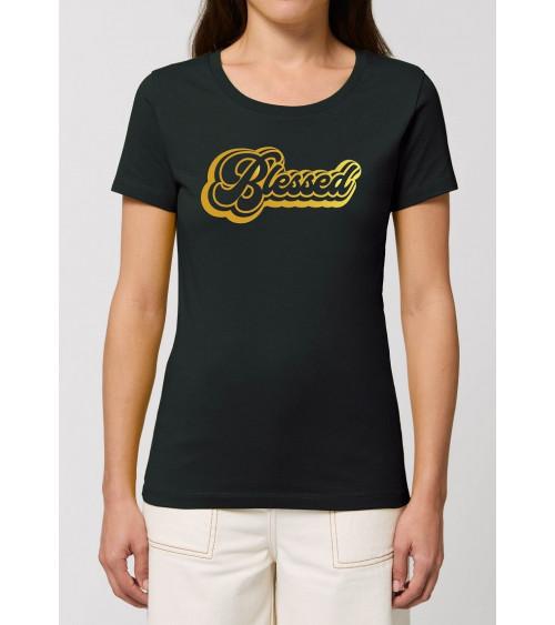 Dames Blessed Zwart T-shirt | Fair wear €27,95 -30% Home