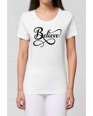 Dames Believe T-shirt | Fair wear €27,95 -30% Home
