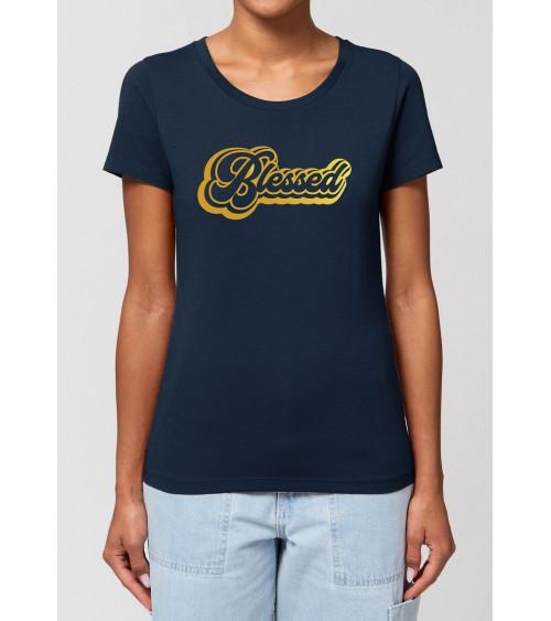 Dames Blessed T-shirt | Fair wear €27,95 -30% Home