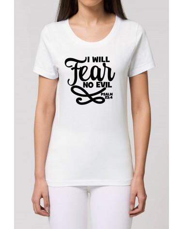 Dames No Fear T-shirt | Fair wear €27,95 -30% Home