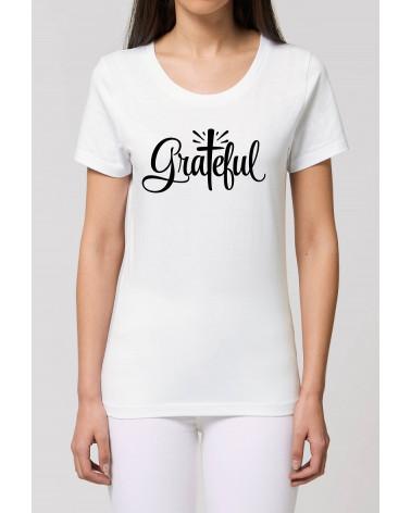 Dames Grateful T-shirt | Fair wear €27,95 -30% Home