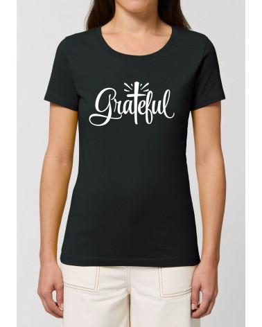 Dames T-shirt Grateful | Fair wear €27,95 -30% Home
