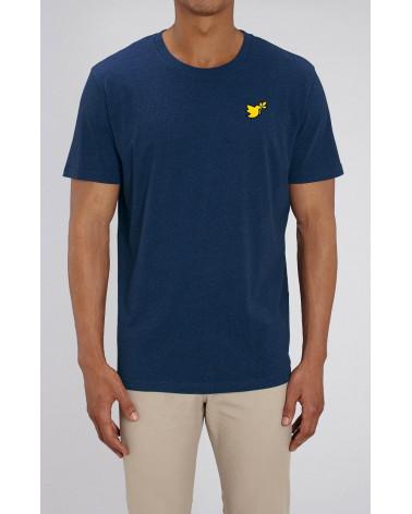 Heren Duif goud symbol T-shirt   Fair wear €32,95 Home