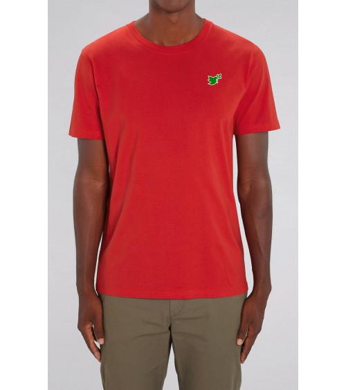 Heren Duif T-shirt Rood | Fair wear €32,95 Home