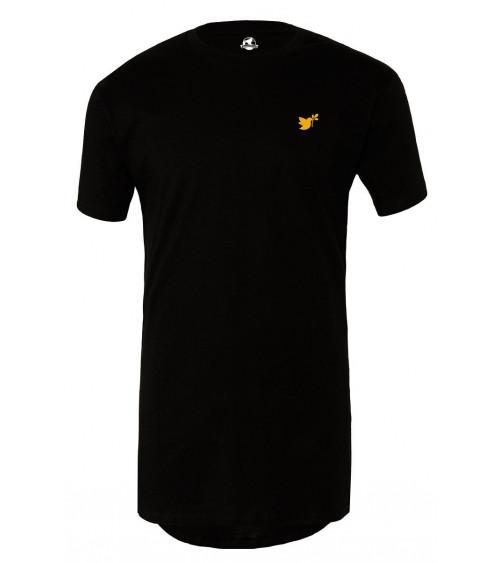 Heren Lange T-shirt Goude Duif logo €34,95 Home