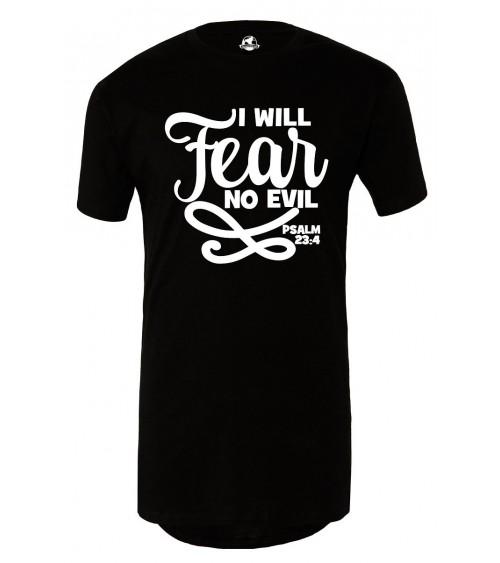 Christian T-shirt   Men's No Fear Long T-Shirt