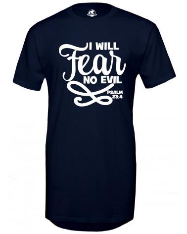 Christelijke T-shirt | Heren Lange T-shirt No Fear €34,95 Home