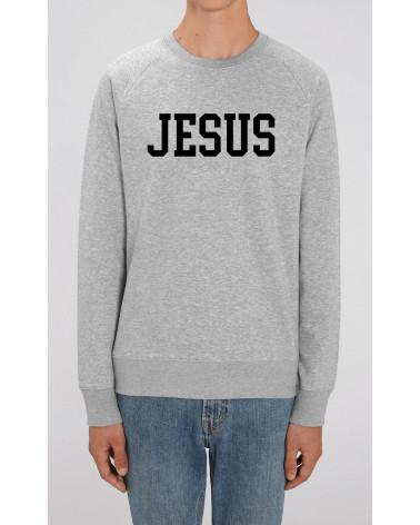 Heren sweater Jesus | Fair wear €37,95 Home