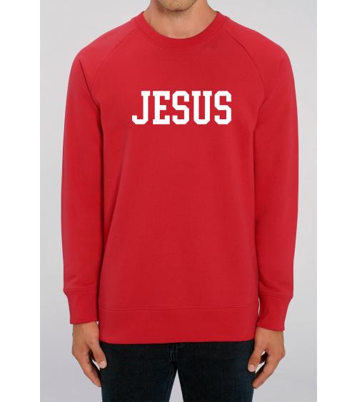 Heren Jesus rode sweater | Fair wear €37,95 Home
