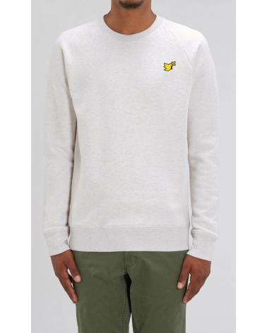 Heren sweater Duif logo goud   Fair wear €42,95 Home