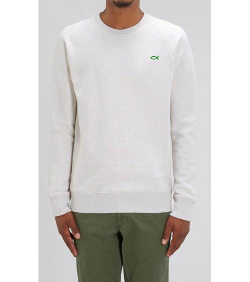 Heren sweater Ichthus logo | Fair wear €42,95 Home