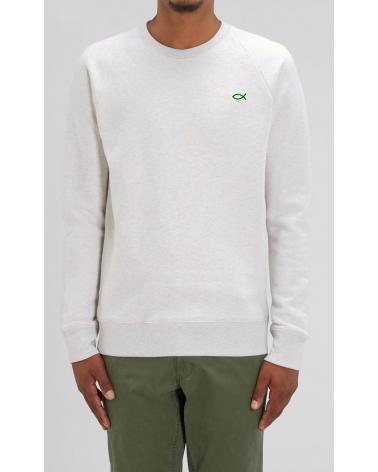 Men's Ichthus logo Sweater   Fair wear