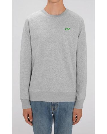 Men's Ichthus Sweater | Fair wear