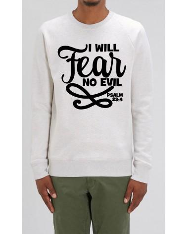 Heren sweater No Fear | Fair wear €42,95 Home