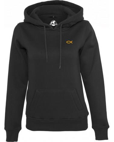 Dames hoodie Ichthus symbool goud €44,95 Home