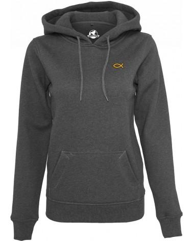 Dames Ichthus symbool hoodie €44,95 Home