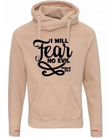 Christian clothing   Men's No Fear hoody