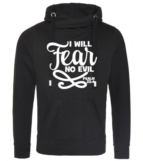 Christelijke kleding | Heren zwarte hoodie No Fear €44,95 Home