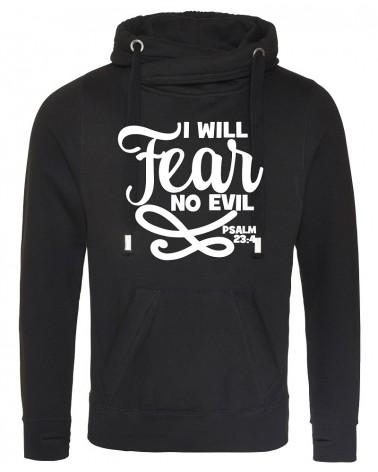 Christian clothing | Men's black hoody No Fear