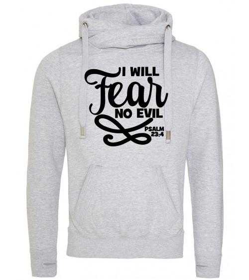 Heren cross neck hoodie No Fear €44,95 Home